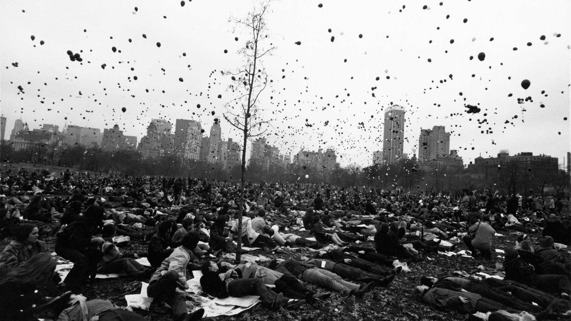 Garry Winogrand, Peace Demonstration, Central Park, New York, 1970