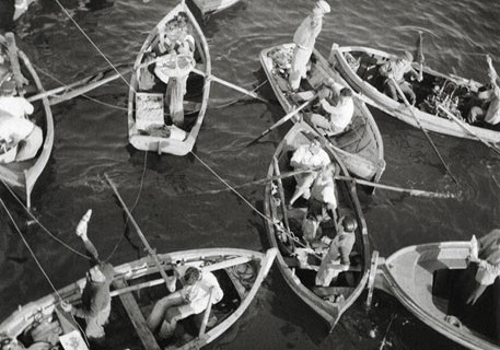 Robert Rauschenberg, Palermo - Vendors on the Sea, 1952