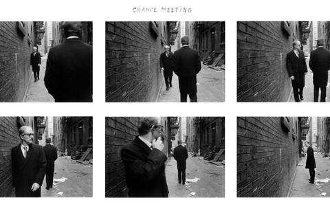 Duane Michals, Chance Meeting, 1970