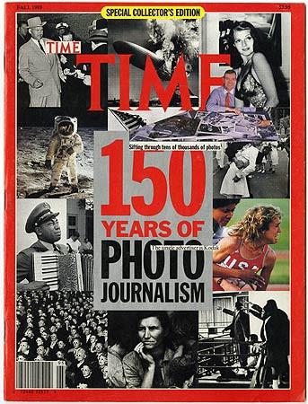 Robert Heinecken, Time: 150 Years of Photojournalism, 1971