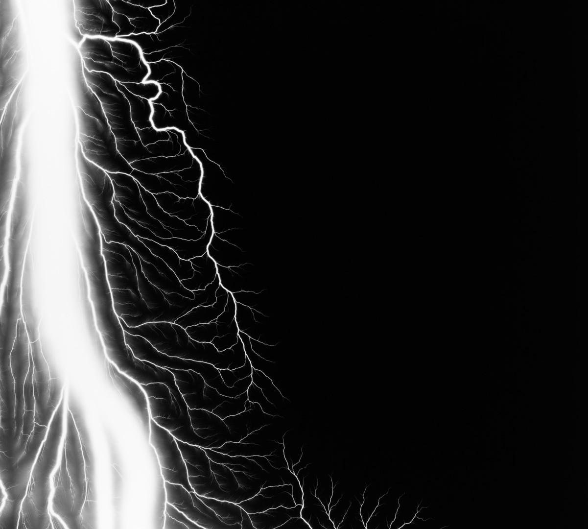 Hiroshi Sugimoto, Lightning Fields 216, 2009