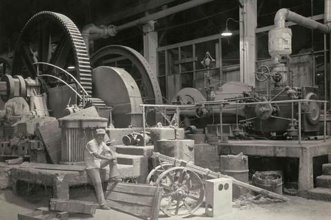 Richard Benson, Man in Sugar Mill, Aguirre, Puerto Rico, 1984-85