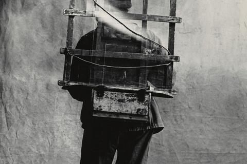 Irving Penn, Vitrier, Paris, 1950
