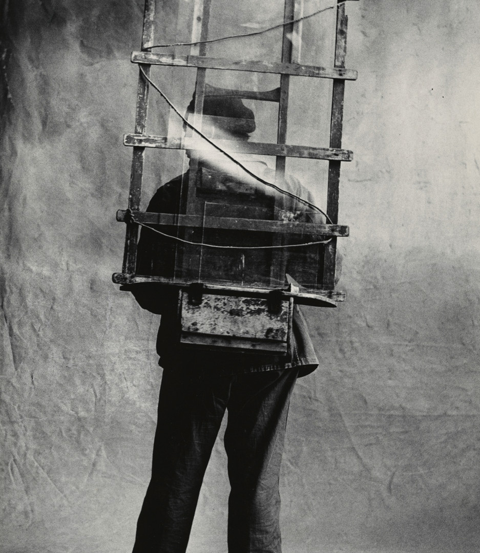 Irving Penn, Vitrier, Paris, 1950