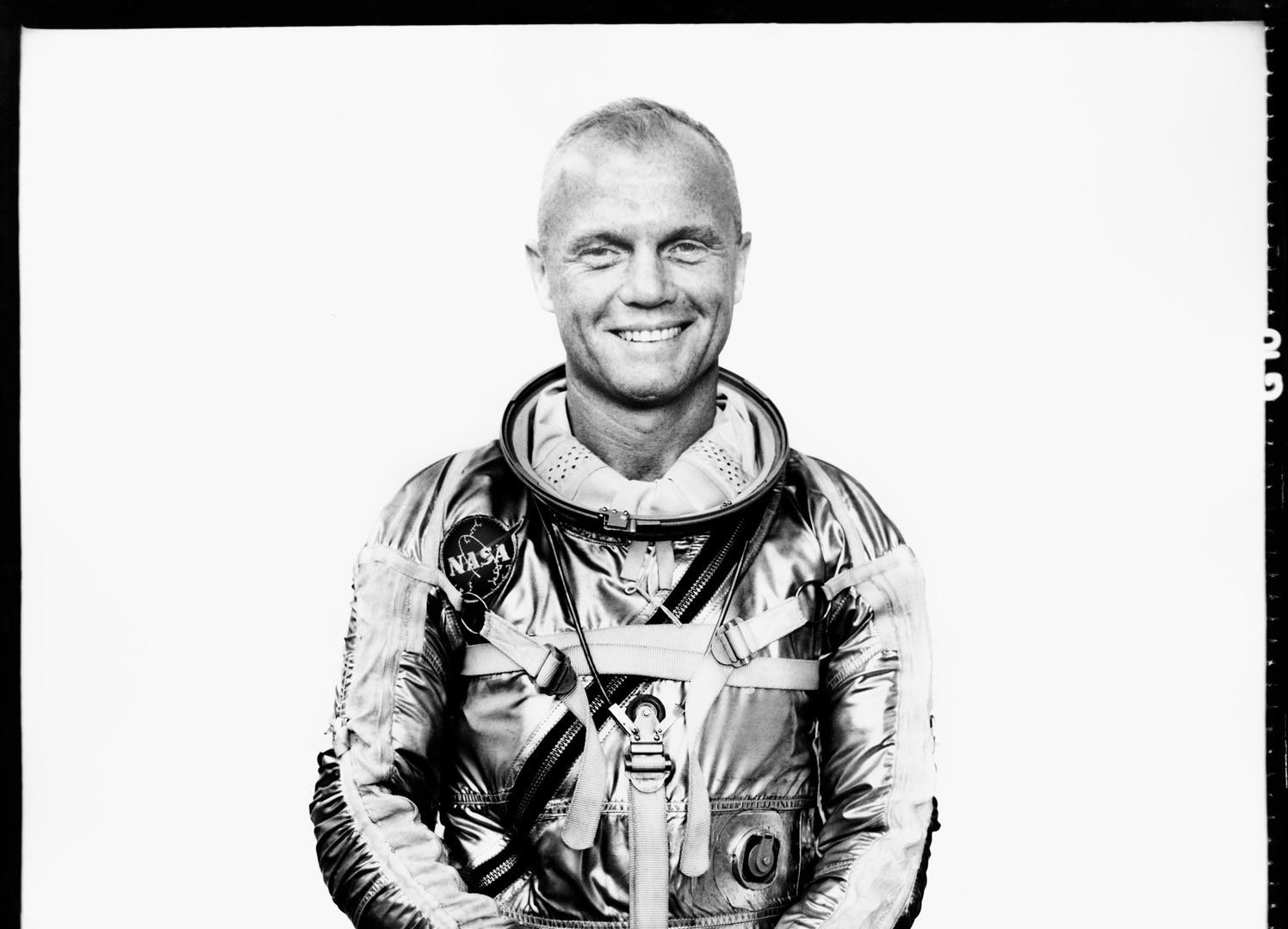 Richard Avedon, John Glenn, Astronaut, Langley Field, Virginia, March 31, 1961