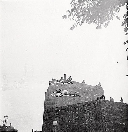 Harry Callahan, Chicago, c. 1954