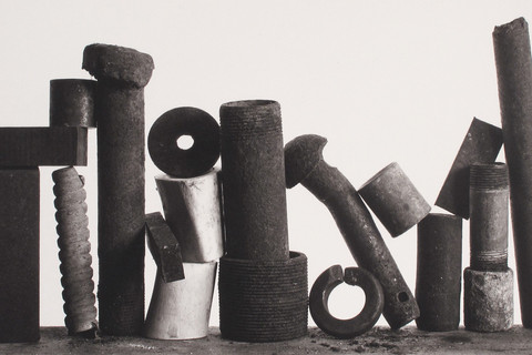 Irving Penn, Composition with Two Washers, New York, 1980
