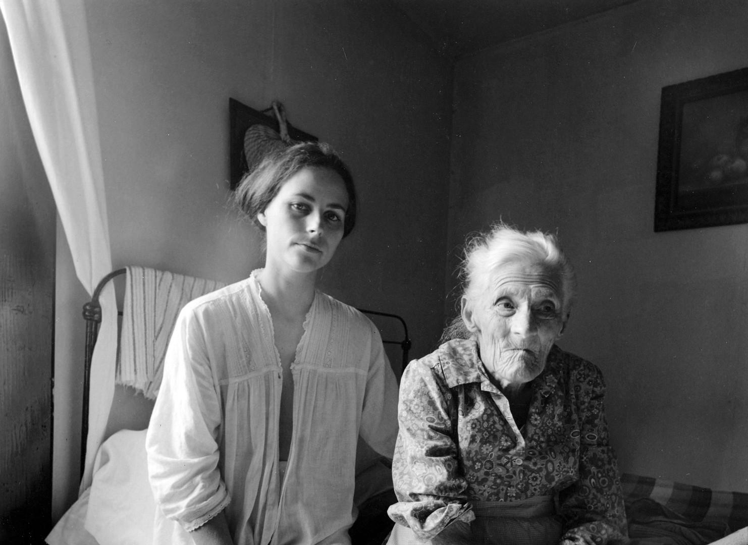 Emmet Gowin, Edith and Rennie Booher, Danville, Virginia, 1970