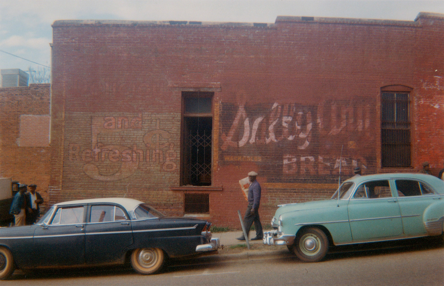 William Christenberry, Wall of Building, Marion, Alabama, 1964