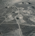 Emmet Gowin, Subsidence Craters of Six Underground Tests Including Armada, Dauphin, Cebrero, Teleme, Kesti, and Leyden; Looking North, Yucca Flat, Area 7, Nevada Test Site, 1996