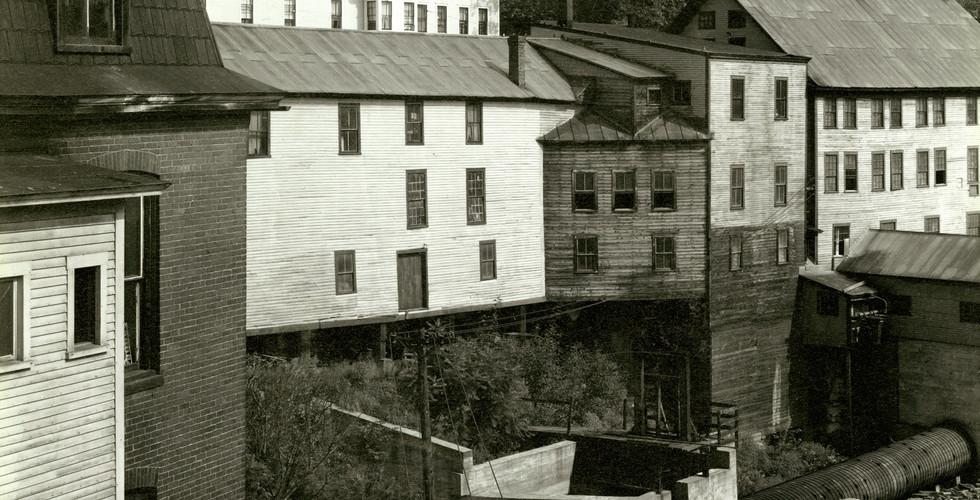 Paul Strand, Mill Dam, Vermont, 1945