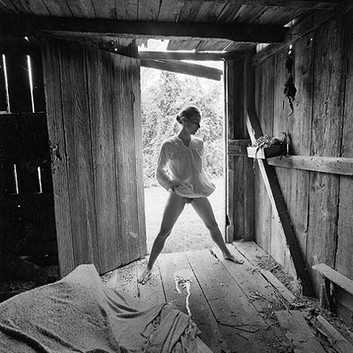 Emmet Gowin, Edith, Danville, Virginia, 1971