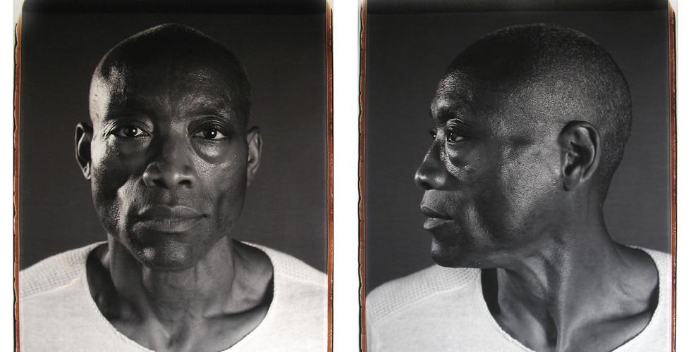 Chuck Close, Bill T. Jones, 2008