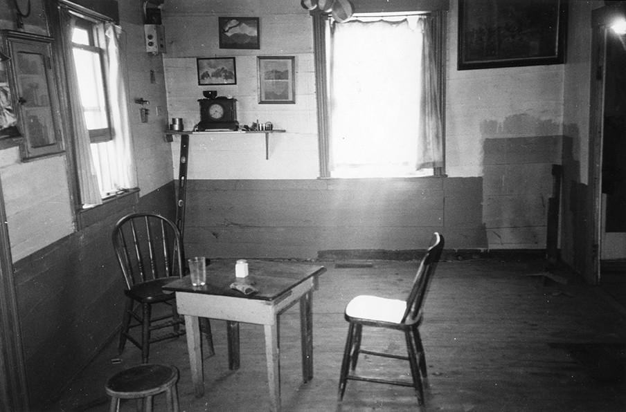 Robert Frank, Living Room Mabou, n.d.