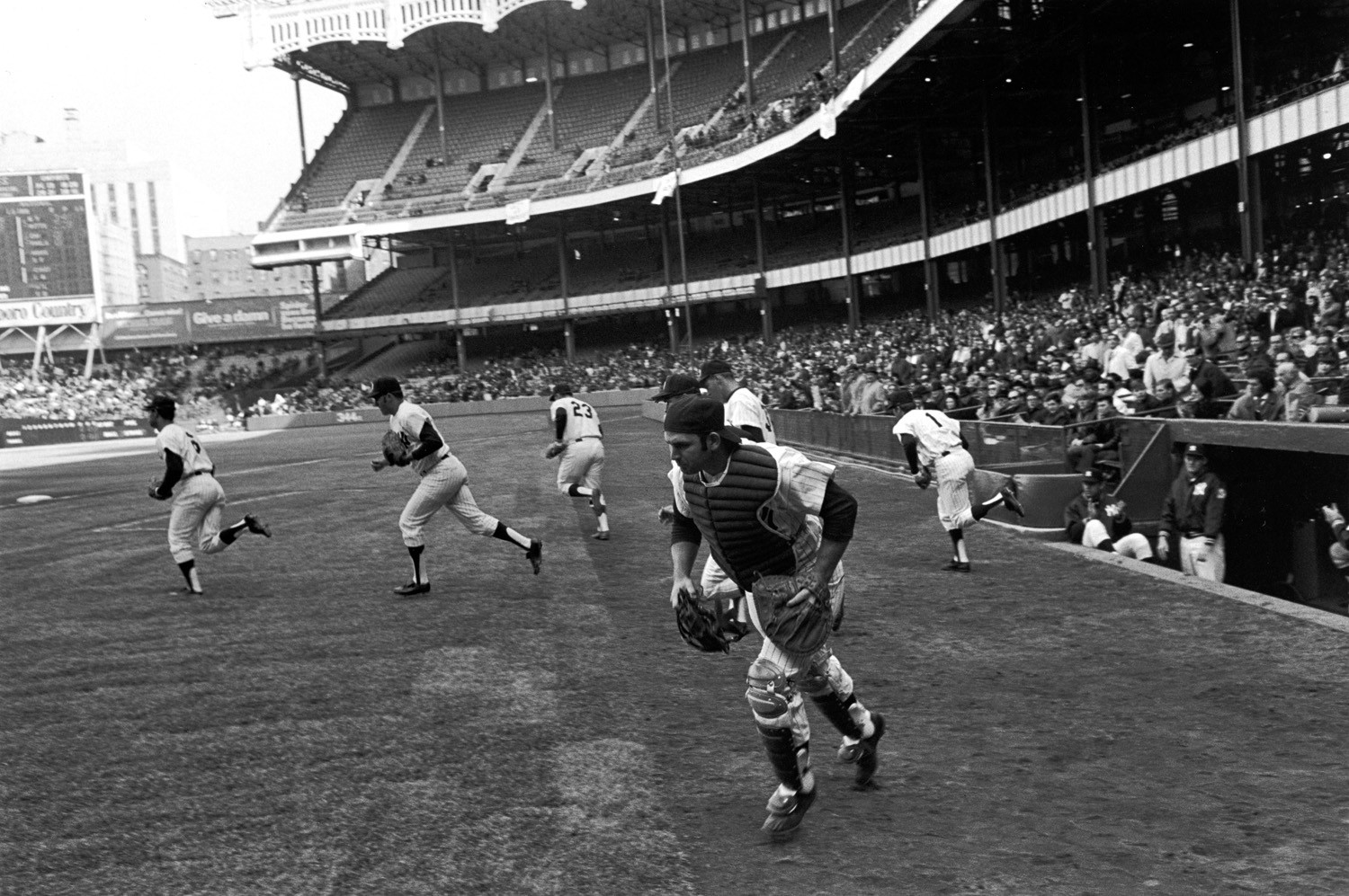 Tod Papageorge, Opening Day (Boston vs. New York), Yankee Stadium, New York, April 7, 1970