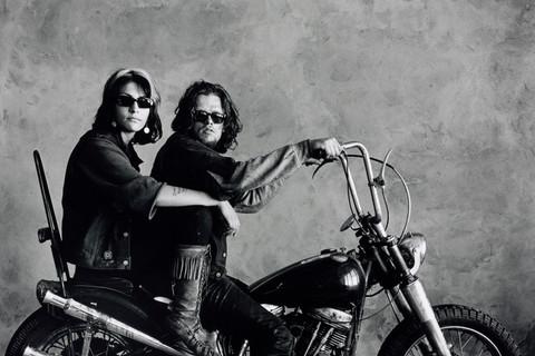Irving Penn, Hell's Angels Couple, San Francisco, 1967