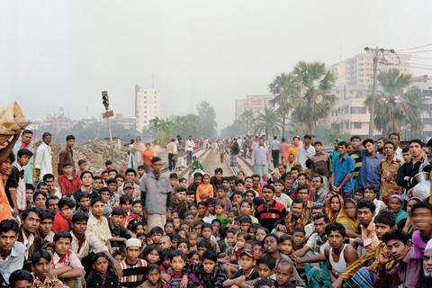 Jim Goldberg, I Asked Who Wanted To Go To Europe, Dhaka, Bangladesh, 2007
