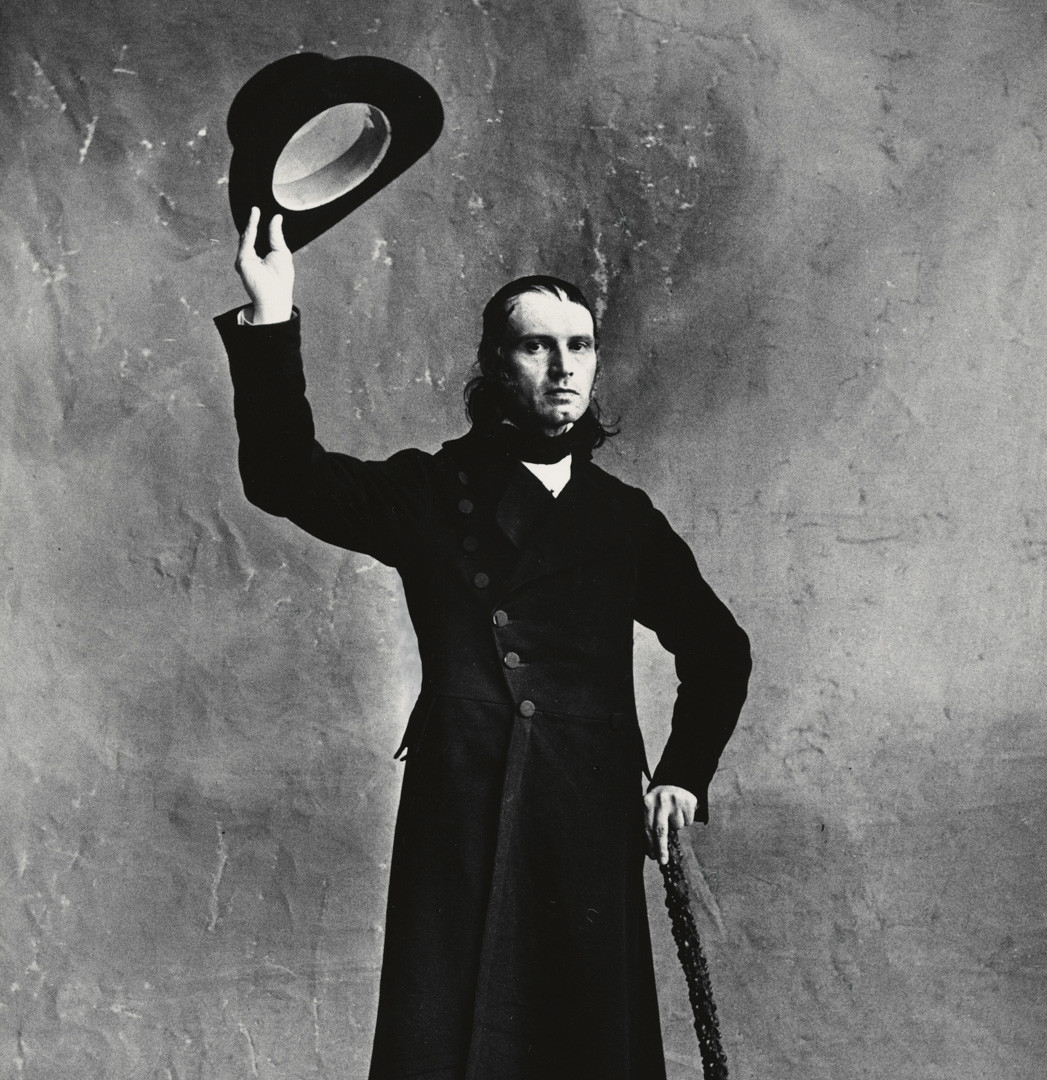 Irving Penn, Le Fou - Armand Fèvre (A), Paris, 1950