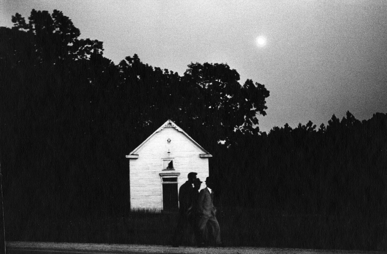 Emmet Gowin, Route 360, Virginia, 1964
