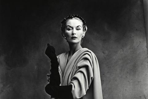 Irving Penn, Balenciaga Mantle Coat (Lisa Fonssagrives-Penn) (A), Paris, 1950