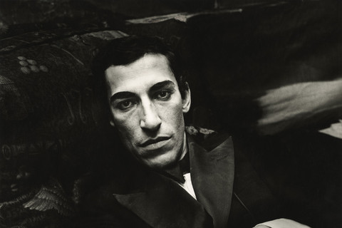 Peter Hujar, Jose Arango Backstage at the Palm Casino Revue, 1974