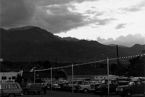 Robert Adams, Pike's Peak, Colorado Springs, 1968-72