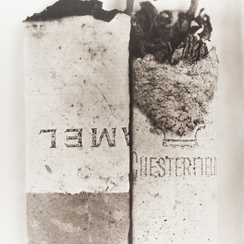 Irving Penn, Cigarette No. 37, New York, 1972