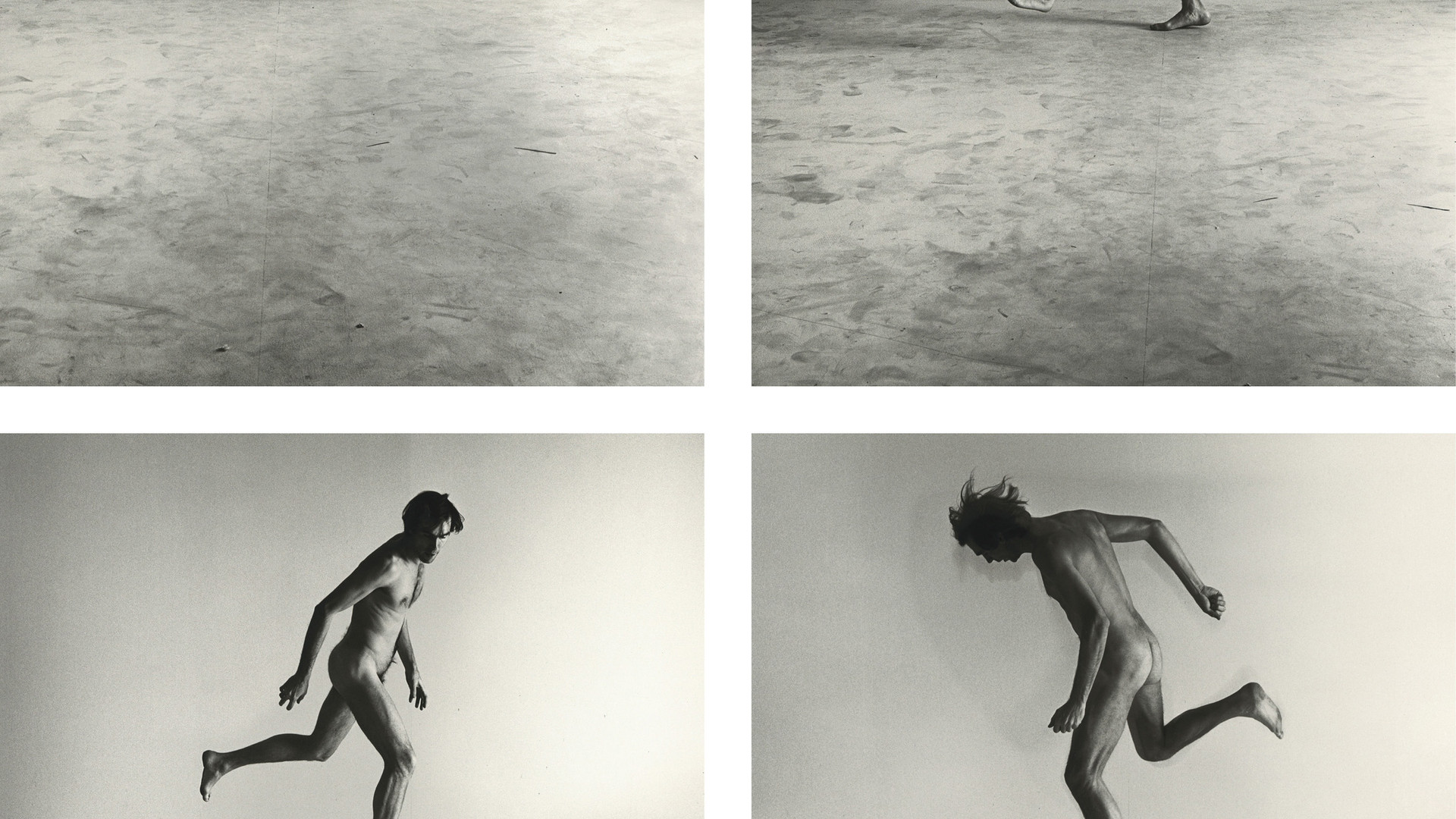 Peter Hujar, Nude Self-Portrait Series #1A, #2, #3, #4, 1967