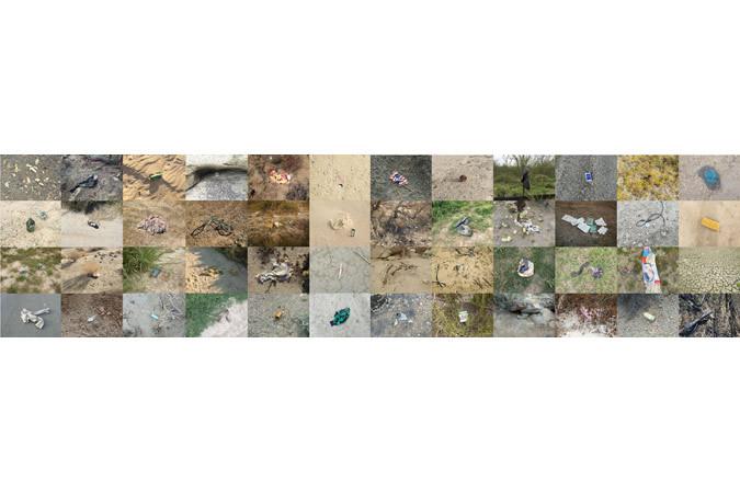 Richard Misrach, Artifacts found from California to Texas between 2013 and 2015 / Artefactos encontrados entre California y Texas de 2013 a 2015, 2013-2015