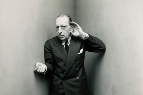 Irving Penn, Igor Stravinsky, New York, 1948
