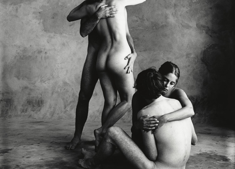 Irving Penn, The Bath (L) (Dancers Workshop of San Francisco), San Francisco, 1967