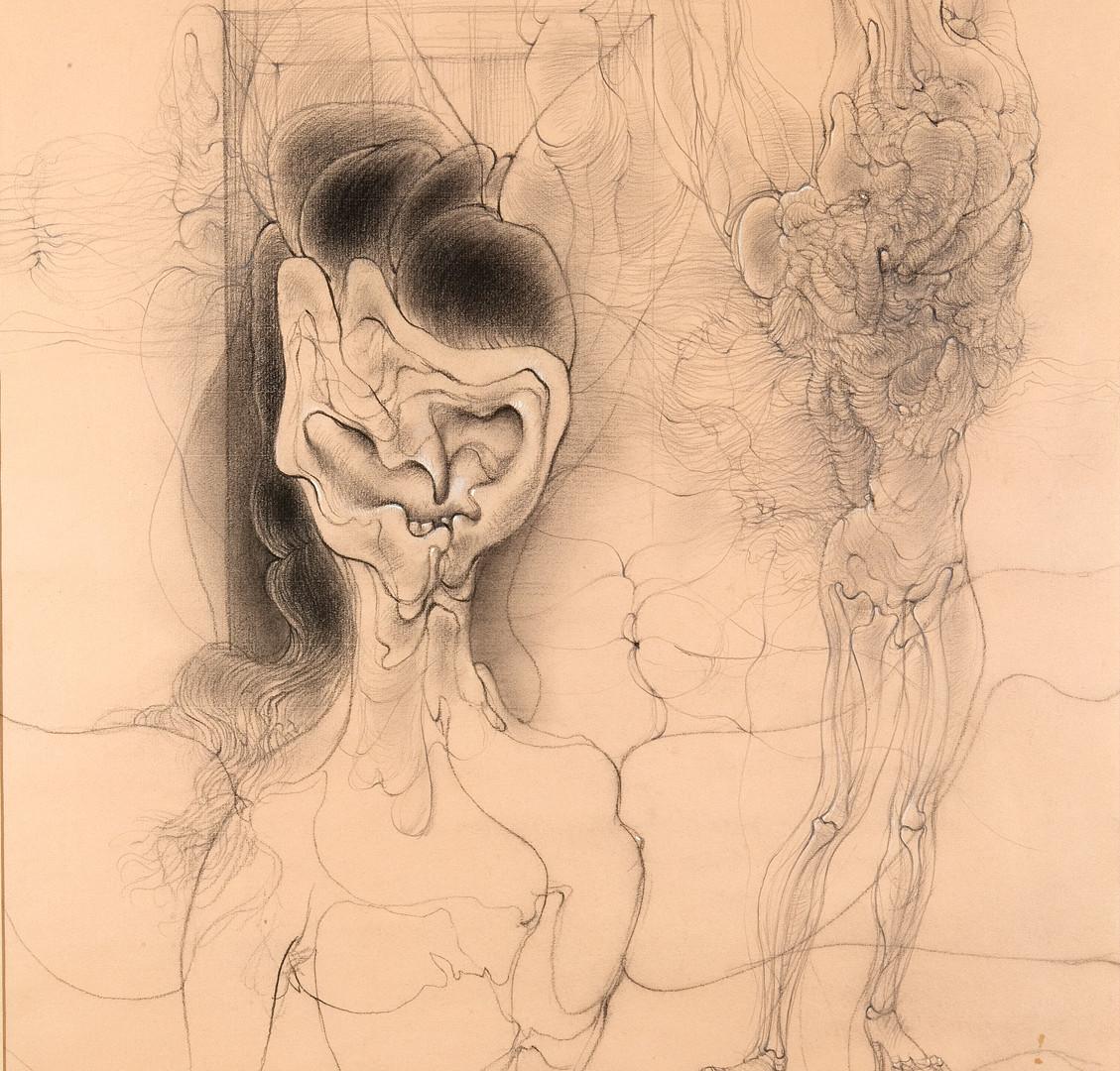 Hans Bellmer (German, 1902-1975), Untitled (deux personnages), 1960
