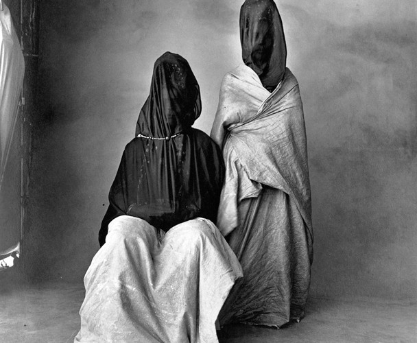 Irving Penn, Two Guedras, Morocco, 1971
