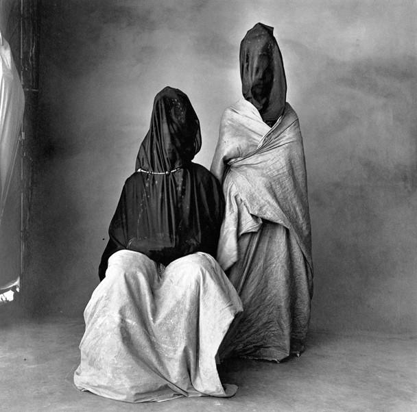 Irving Penn, Two Guedras, Morocco, 1971