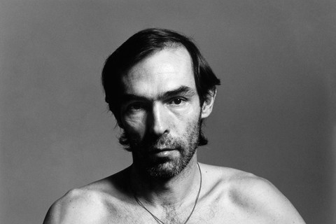 Peter Hujar, Self Portrait (with a string around his neck), 1980