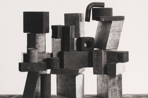 Irving Penn, Construction with Nut, New York, 1980