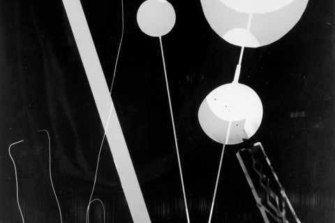 Man Ray (American, 1890-1976), Untitled Rayograph, 1945