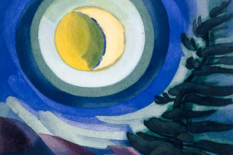 Oscar Bluemner (1867-1938) Moon Radiance, 1927