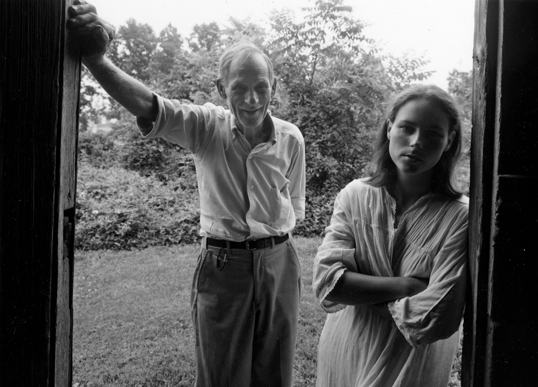 Emmet Gowin, Raymond Booher and Edith, Danville, Virginia, 1969