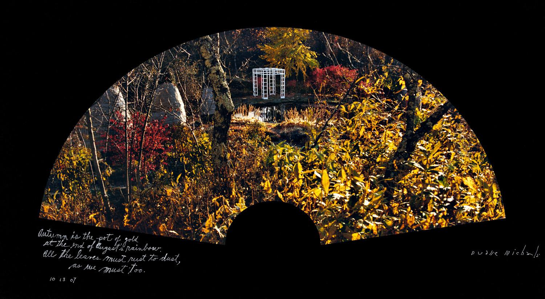 Duane Michals, Autumn is the pot of gold, 10/13/07