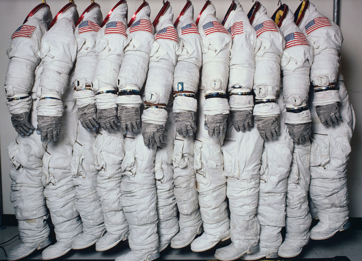 Hiro, Apollo Spaceflight Training Suits, Houston, Texas, June 27, 1978