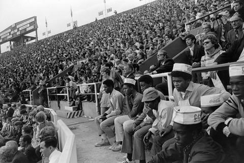 Tod Papageorge, Iron Bowl (Auburn vs. Alabama), Legion Field, Birmingham, Alabama, November 28, 1970