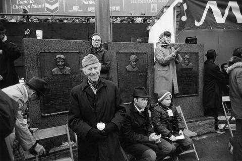 Tod Papageorge, NFL game (Washington vs. New York), Yankee Stadium, New York, November 15, 1970