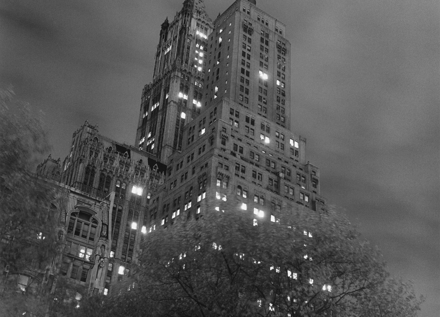 Peter Hujar, Woolworth Building, 1976