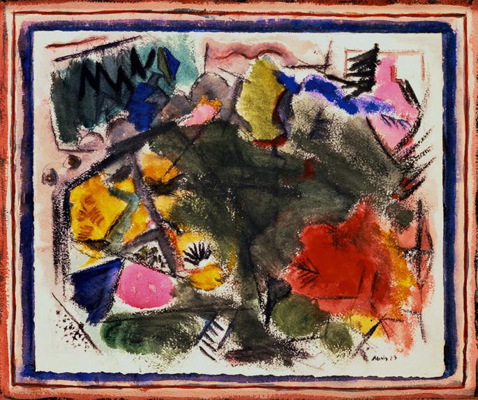 John Marin (1870-1953), Movement Autumn, 1923