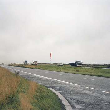 Paul Graham, Windsock in Rain, North Yorkshire, November, 1981