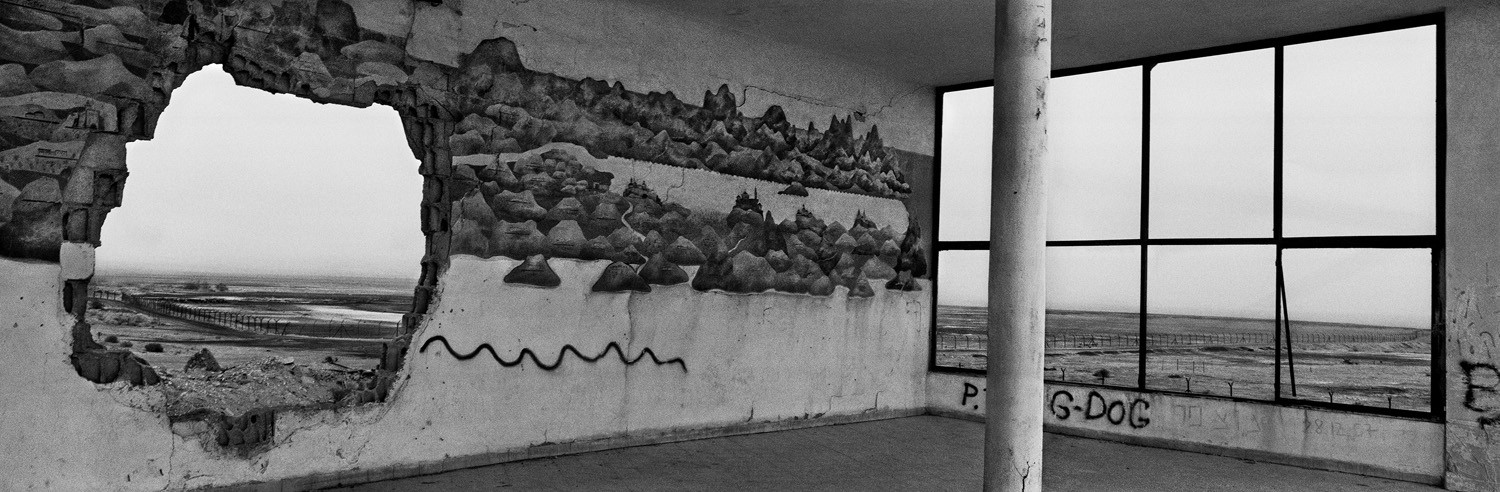 Josef Koudelka, The Jordan Border, Israel, 2009