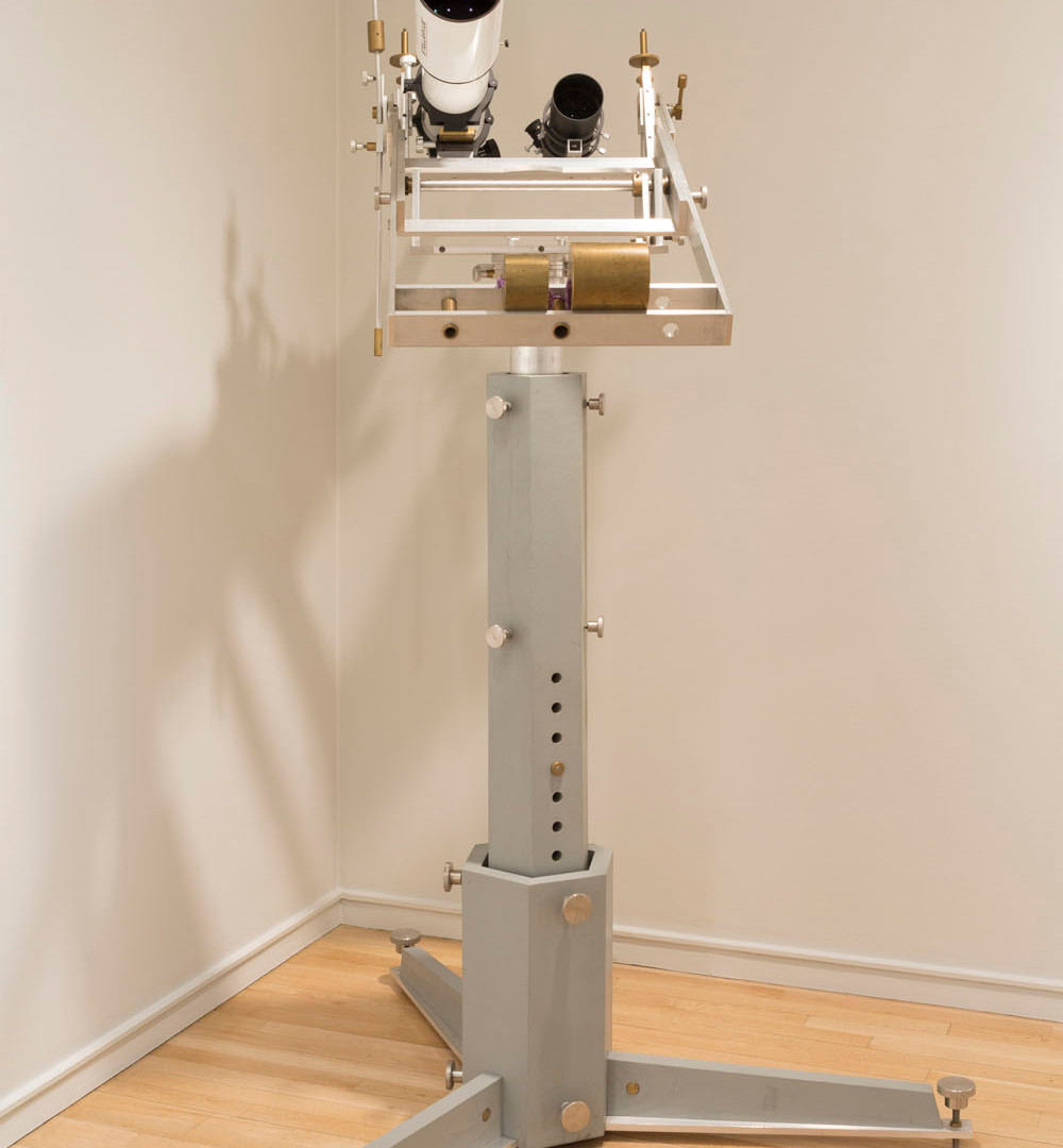 Richard Benson, Telescope mount, 2013
