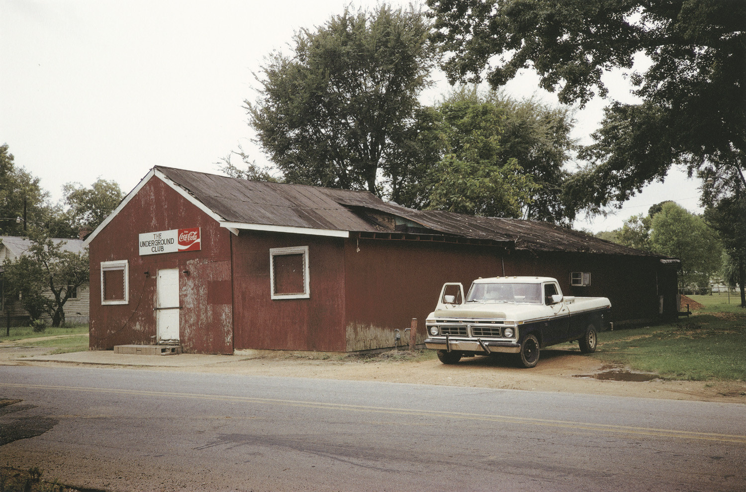 William Christenberry, Underground Nite Club, Greensboro, Alabama, 1994