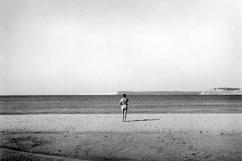 Harry Callahan, Eleanor, Lake Michigan, 1952